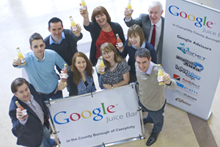 Google Juice Bar event Caerphilly